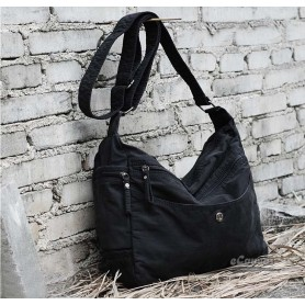 black Casual cotton cloth bag