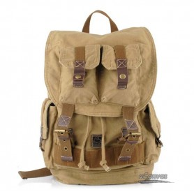yellow climbing back left shoulder bag