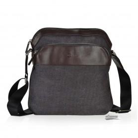 black messanger bag