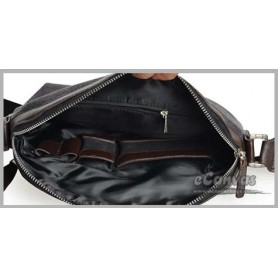 mens black messanger bag
