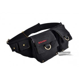 Best unisex fanny pack black