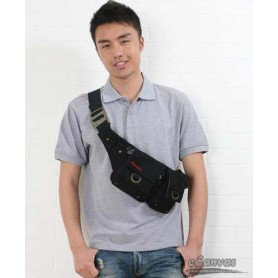 unisex fanny pack black for men