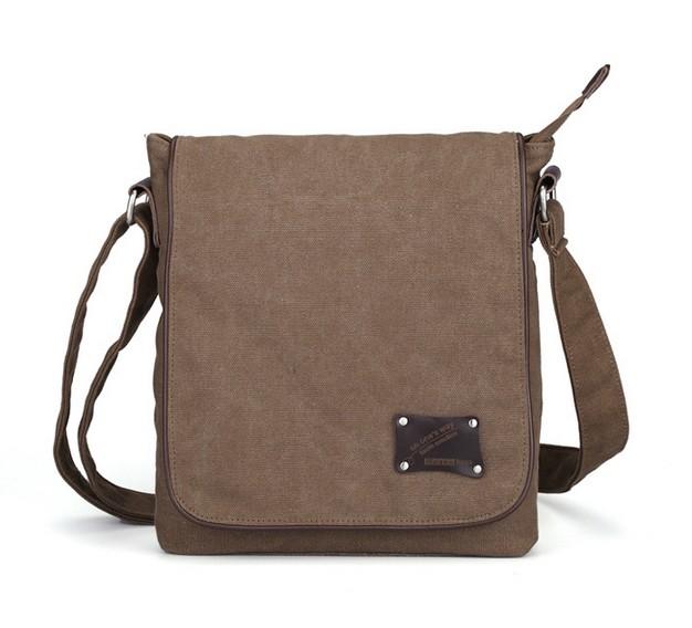 how to make a canvas messenger bag