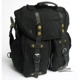 Shoulder messenger bag black