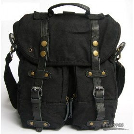 Shoulder messenger bag black for men