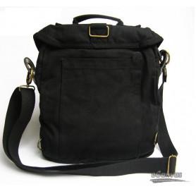 mens Shoulder messenger bag black