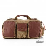 khaki mens large capacity pack
