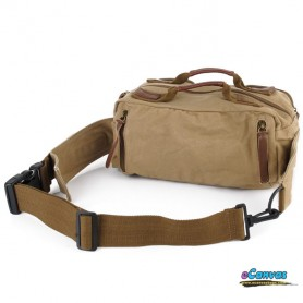 khaki large capacity pack