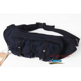 Fashion fanny pack black