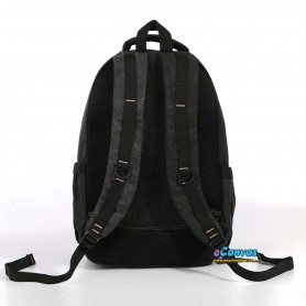 canvas computer travel bag black for mens