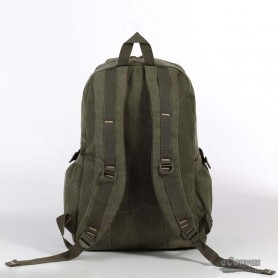 canvas school laptop bag army green for mens