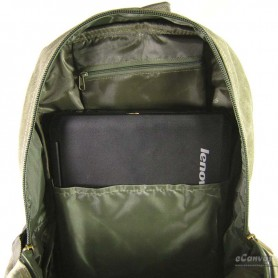 school laptop bag army green
