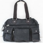 Canvas multi purpose bag coffee grey