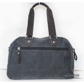 Canvas multi purpose bag coffee grey for mens