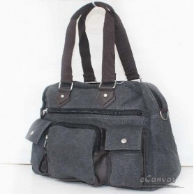 Canvas multi purpose bag grey for mens