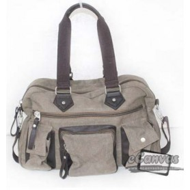 Canvas multi purpose bag coffee