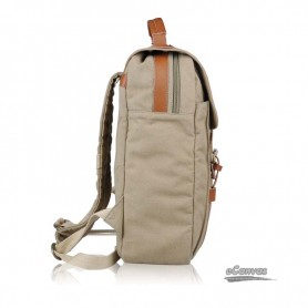 mens Canvas travel computer backpack