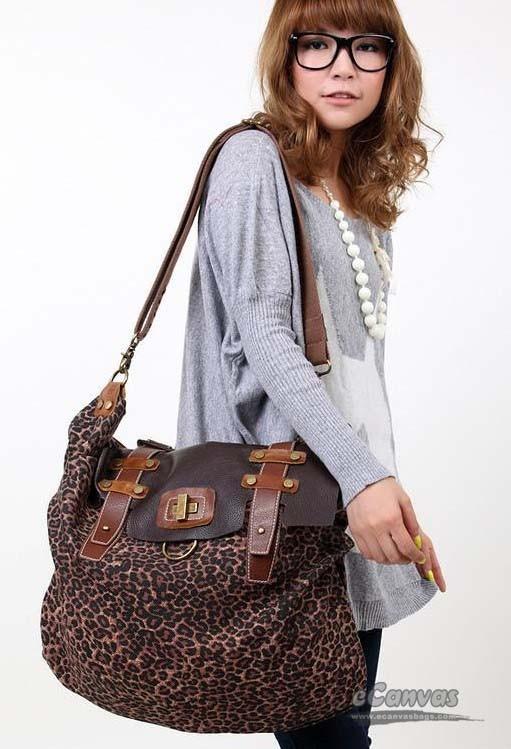 Leopard Print Shoulder Bag 94