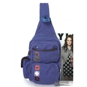 Messenger sling bag blue