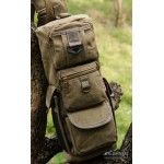 One strap sling backpack black, army green, khaki