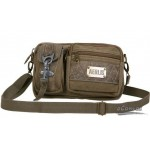 Mens fashion bumbag shoulder bag black, army green, khaki