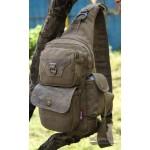 Chest pack bag black, army green, khaki