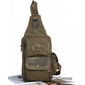 Chest pack bag KHAKI FOR MEN