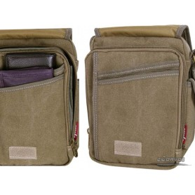 Classic messenger bag small KHAKI
