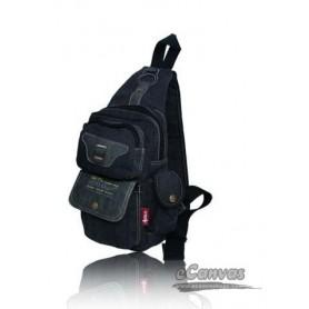 Chest pack bag black