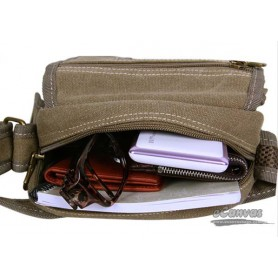 messenger bag small KHAKI