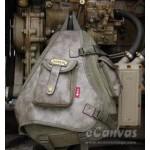 Hot unisex vintage men's backpack chest pack 3 colors