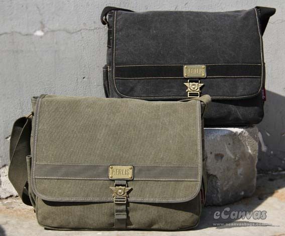... Military army style canvas shoulder messenger bag khak army green ... 7202d72ffc0