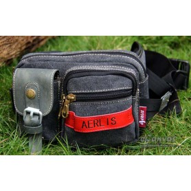 Fanny pack bag black