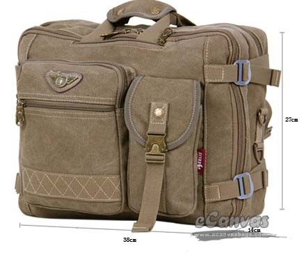 Business class briefpack, laptop backpack, khaki, army green ...