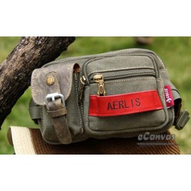 Fanny pack bag army green