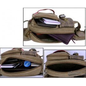 Fanny pack purse, khaki for ladies