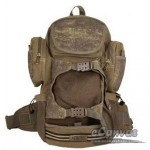 Mountaineering backpack personalized pack, khaki