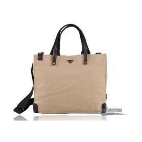Mens briefcase KHAKI