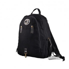 College 14 inch laptop ipad 2 backpack black