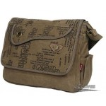 Commute laptop messenger, khaki, army green, black