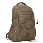 Top handle large computer backpack khaki, army green, black
