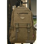 Adventure laptop daypack, distressed mens backpack purse khaki, army green, black