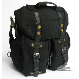 Shoulder Messenger Bag Black