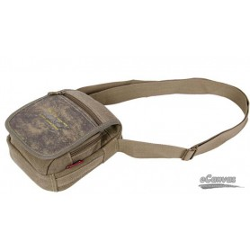 Men canvas messenger bag shoulder khaki