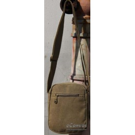 Men canvas messenger bag shoulder khaki for mens