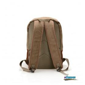 Mens Canvas Coffee School Book Bag