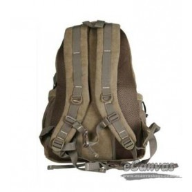 mens Vintage military laptop backpack khaki