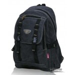 Mountain-climbing laptop package, right pack monochrome black