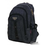 Travel military computer daypack black