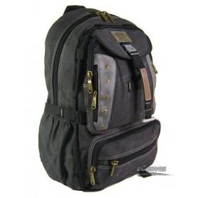 High Capacity Travel Computer Bag Black